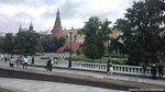 Москва. Манежная площадь. Вид на Кремль