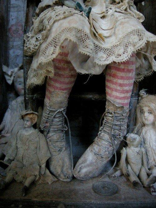 старые куклы