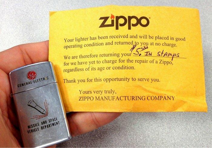 В Zippo мзды не берут