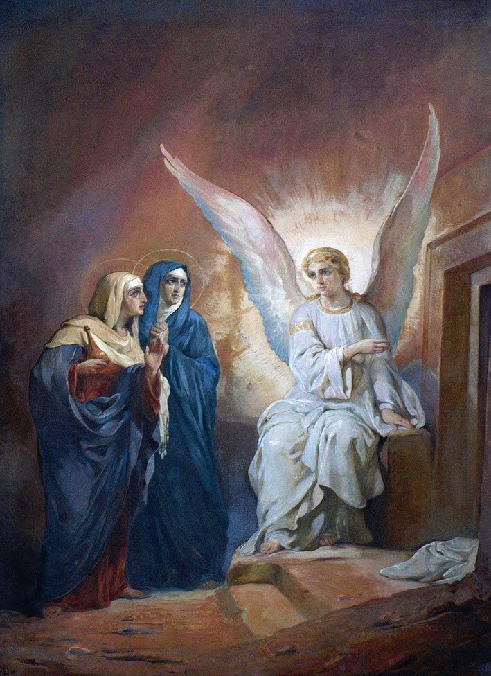 Воскресение Христово (современная реставрация)
