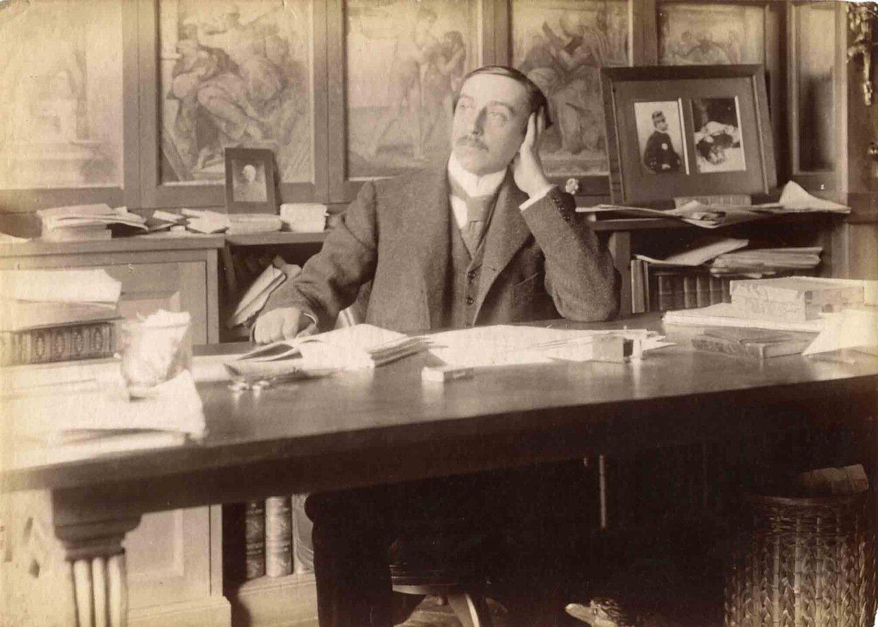 Морис Баррес (1862-1923), французский писатель