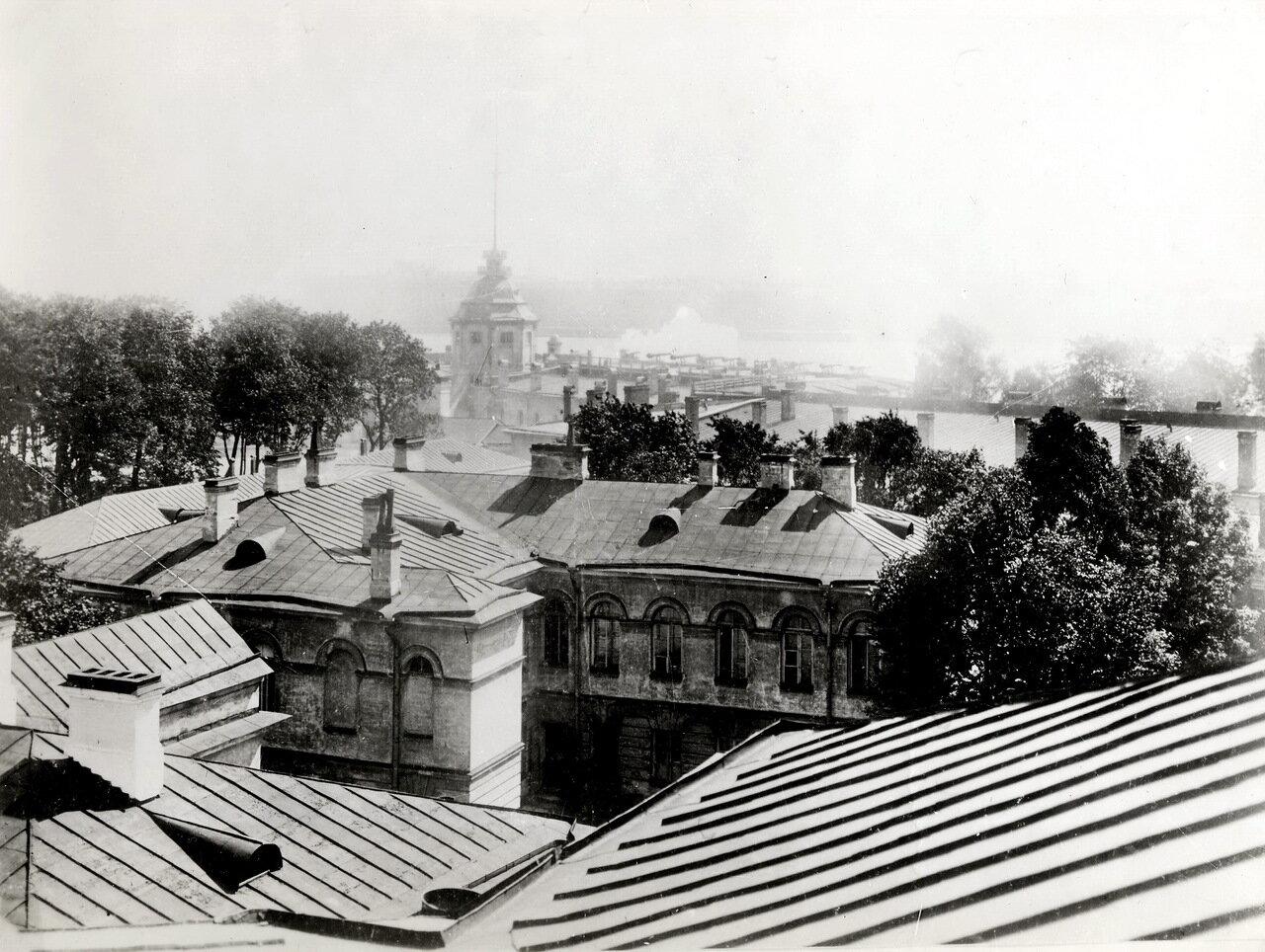 Петропавловская крепость. Крыши