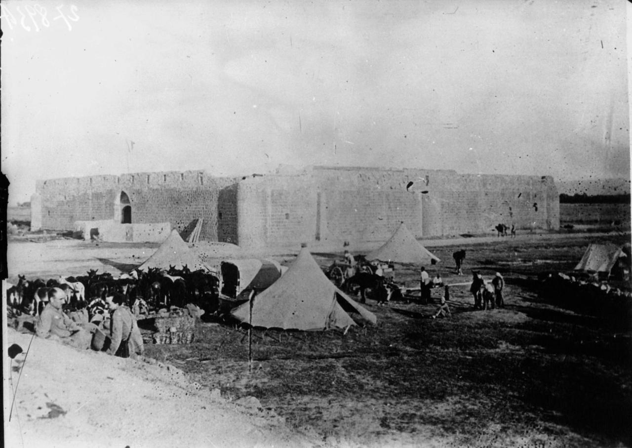 Панорама Дамаска. 1925