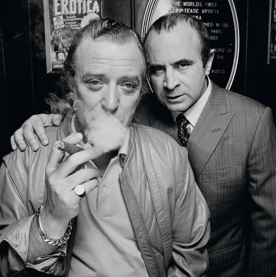 1985. Майкл Кейн и Боб Хоскинс. Лондон