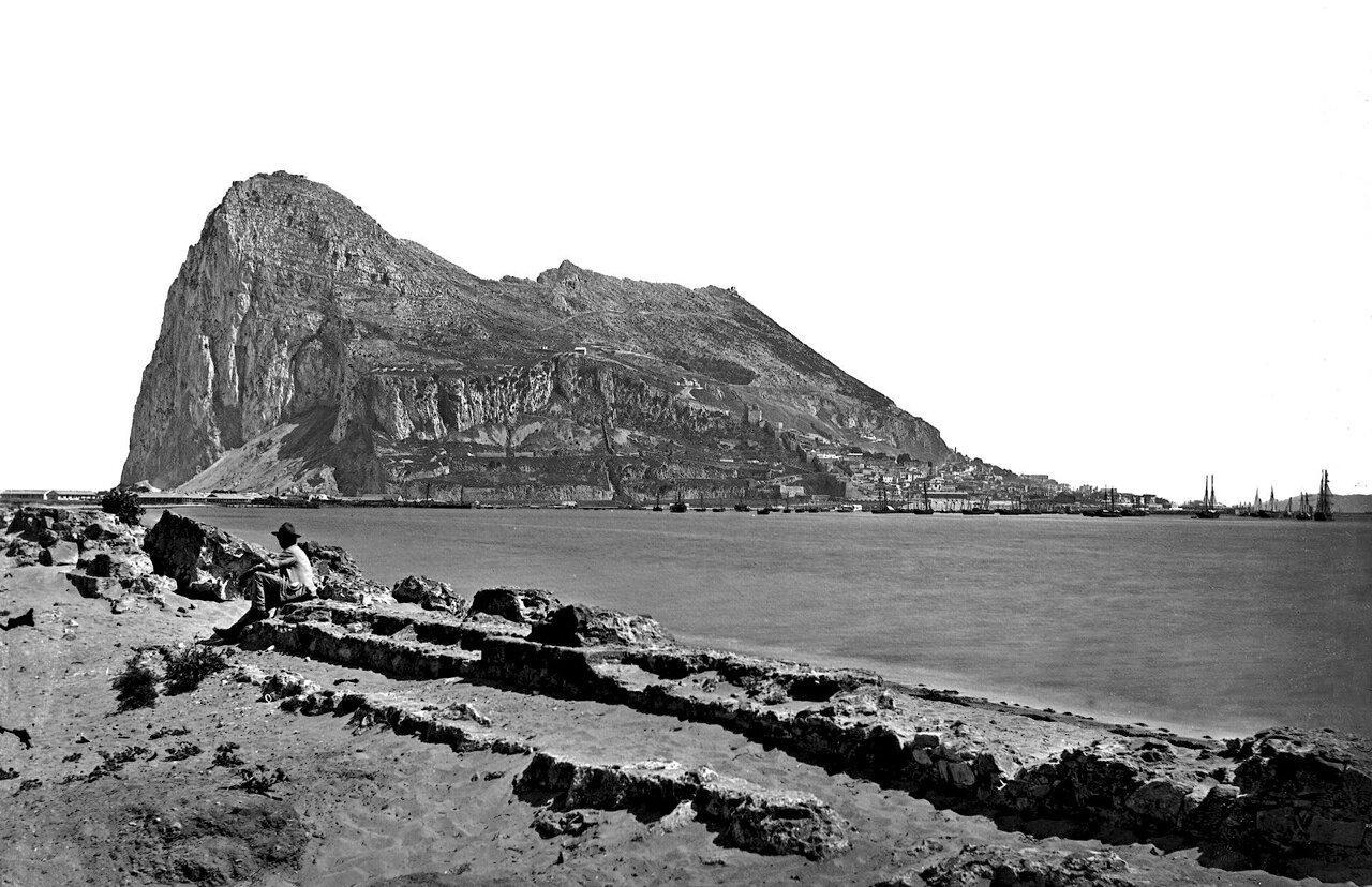 1890. Скала от Сан-Фелипе