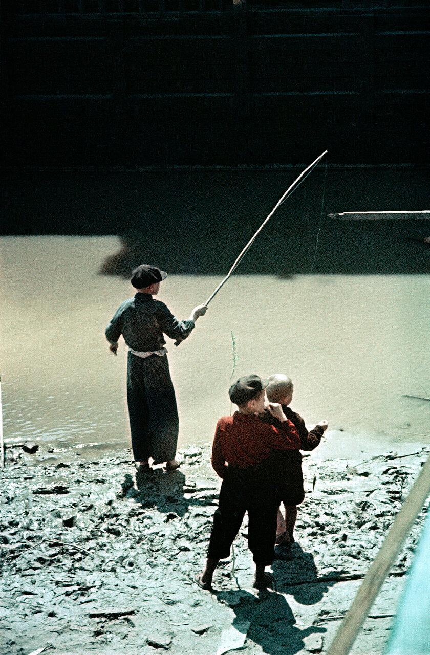 Новосибирские рыболовы