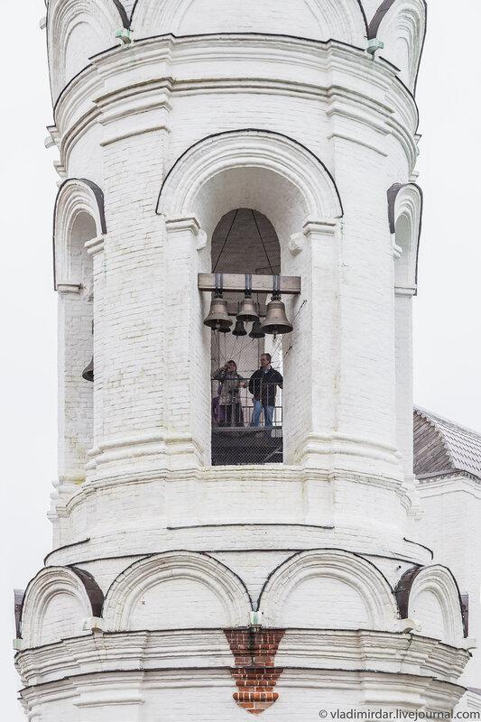 Колокольный звон с колокольни Храма Святого Георгия Победоносца