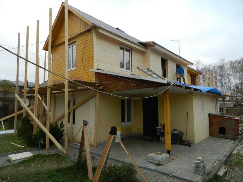 Перестройка старого дома