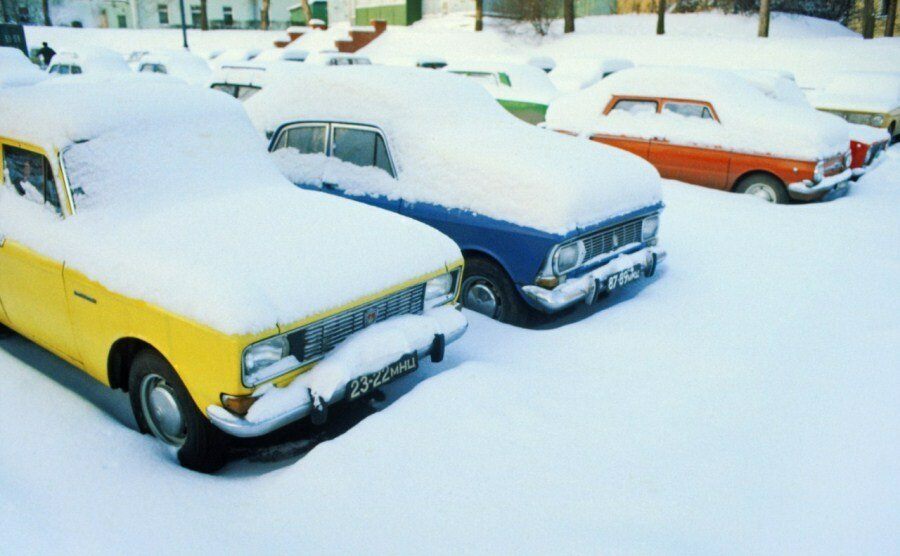 Winter in Moscow, 1982