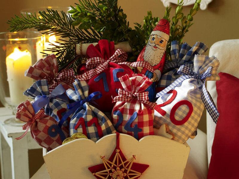 Украшения к рождеству своими руками дом