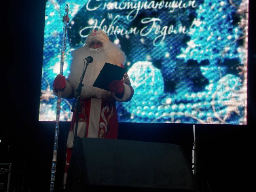В Запорожье  главную городскую ёлку «зажгли» волшебным посохом (ФОТО), фото-4