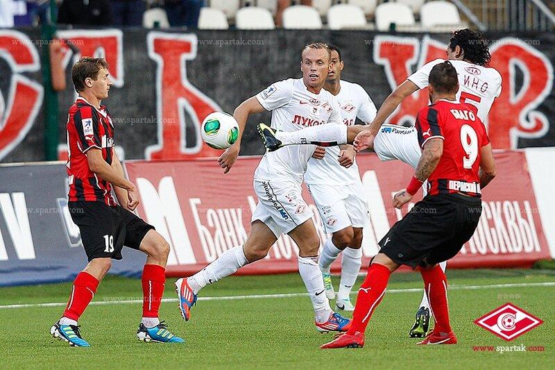 «Амкар» vs «Спартак» 2:1 Премьер-лига 2013-2014 (Фото)