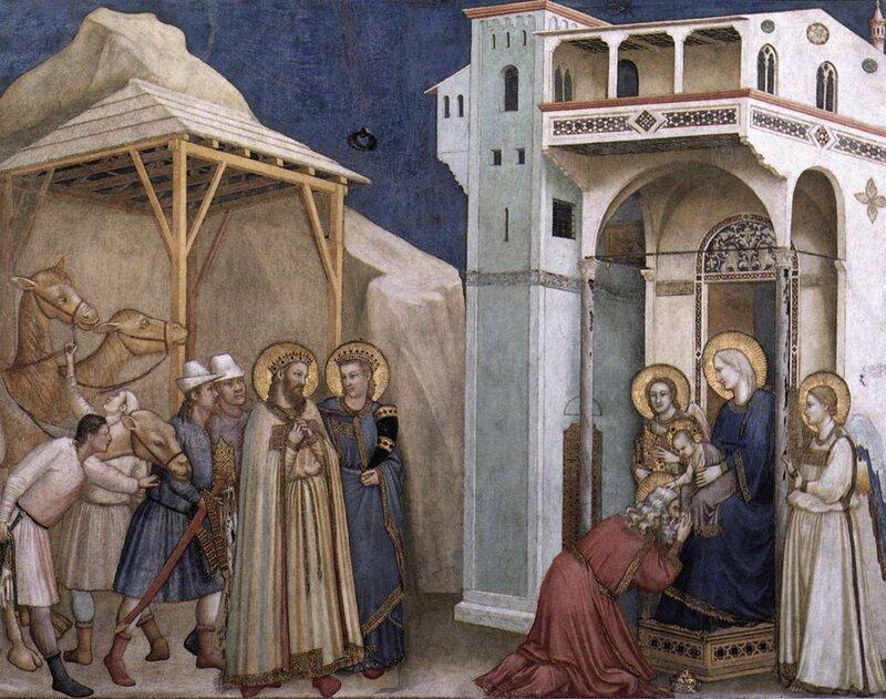 5.Поклонение волхвов (1310).jpg