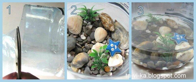 Фото поделок из камней для аквариума своими руками