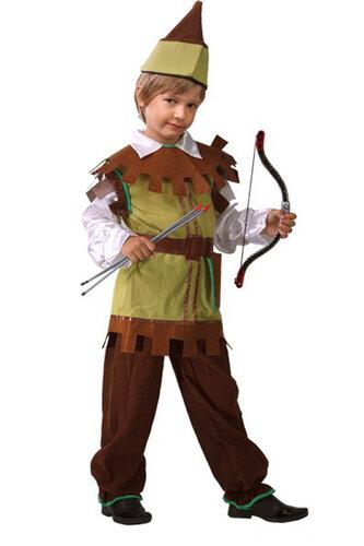 Детский карнавальный костюм Робин Гуд