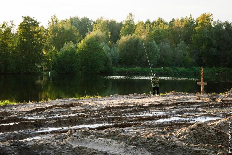 рыбалка на боровом озере