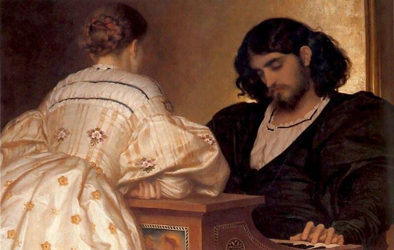 Lord Frederick Leighton – The Golden Hours
