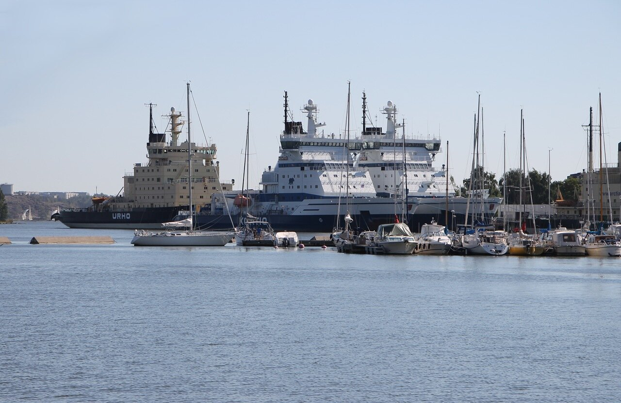 Helsinki, Parking icebreakers