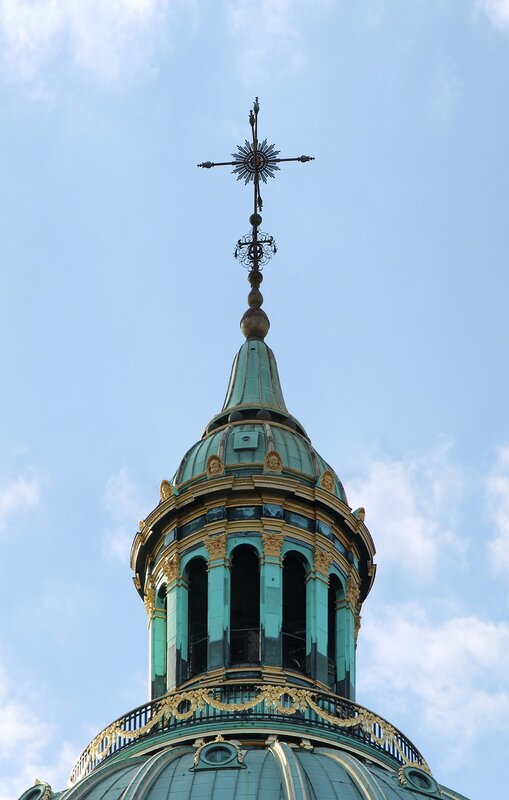 Copenhagen. Frederik's Church or the Marble Church (Frederiks Kirke, Marmorkirken)e