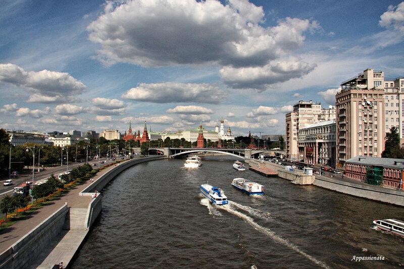 Москва - геометрия города