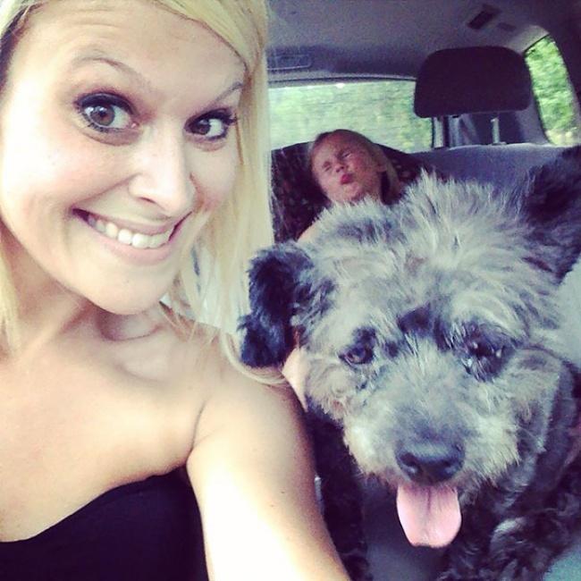 Жительница Колумбуса Николь Эллиот увидела объявление отом, что неизлечимо больному псу Честеру нуж