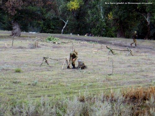 Реконструкция битвы за лисичанск 2013 год