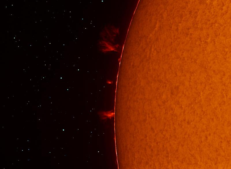 Мощь солнца. Фотограф Pepe Manteca