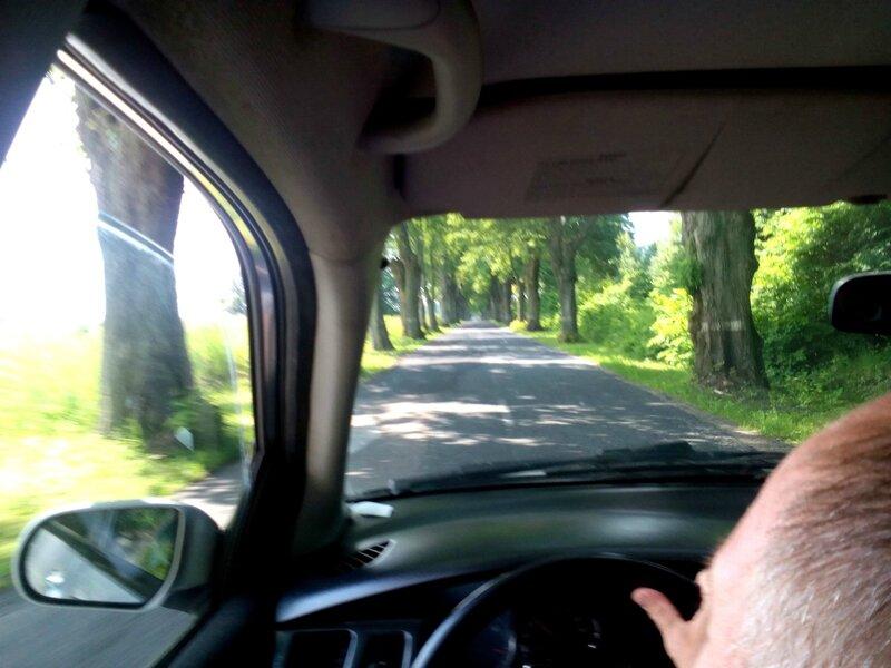 Старая немецкая дорога на Янтарный
