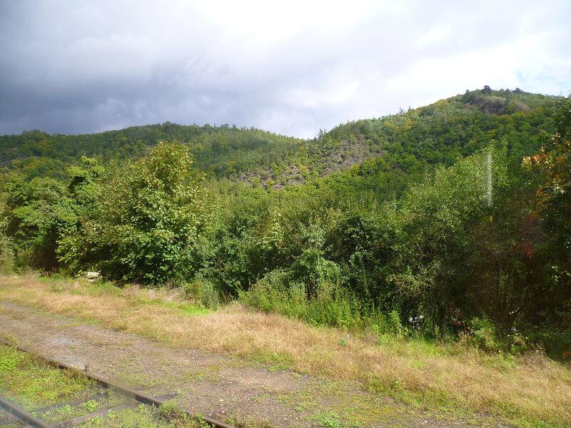 Чехия, дорога Бероун – Кршивоклат (Czech Republic, the road Beroun – Křivoklát)