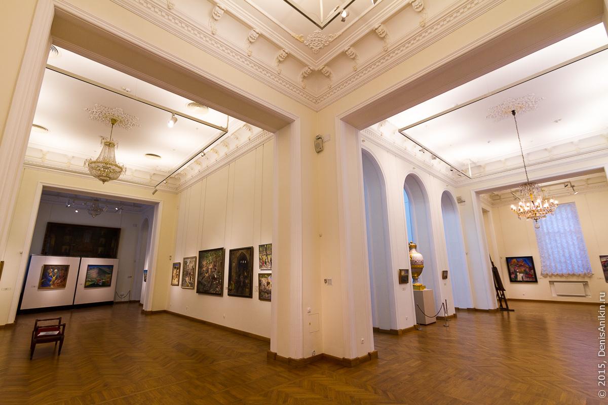 Художественный музей Радищева интерьер 11