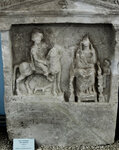 Стела надгробная Птолемеиды, жены Гераклида. Iв.н.э.