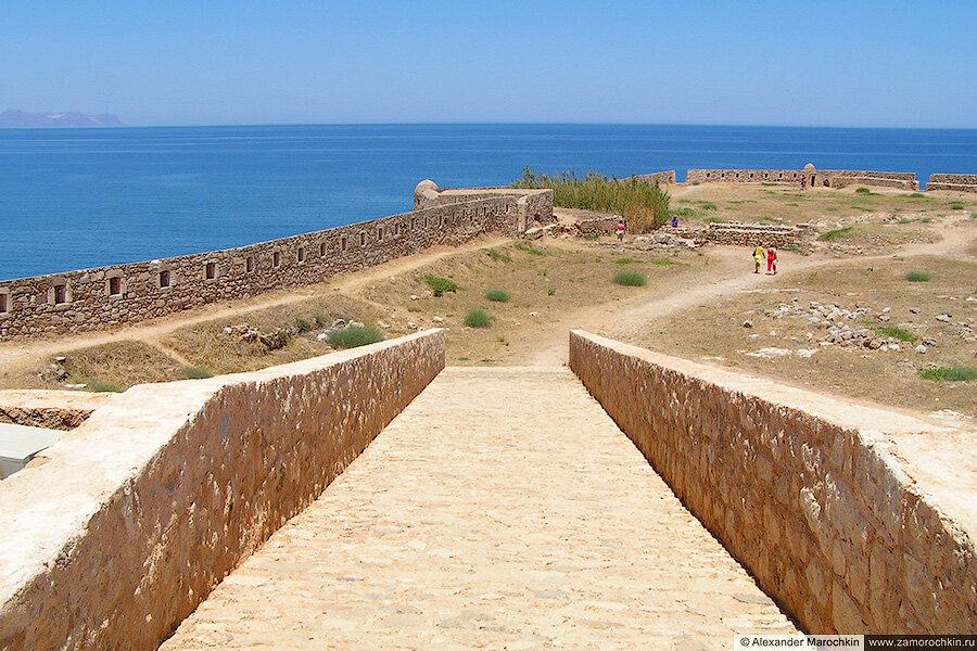 Вид на море из крепости Фортецца, Ретимно