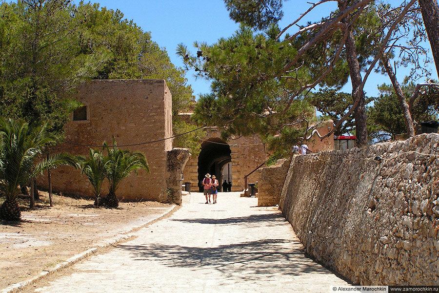 Крепость Фортецца в Ретимно, выход