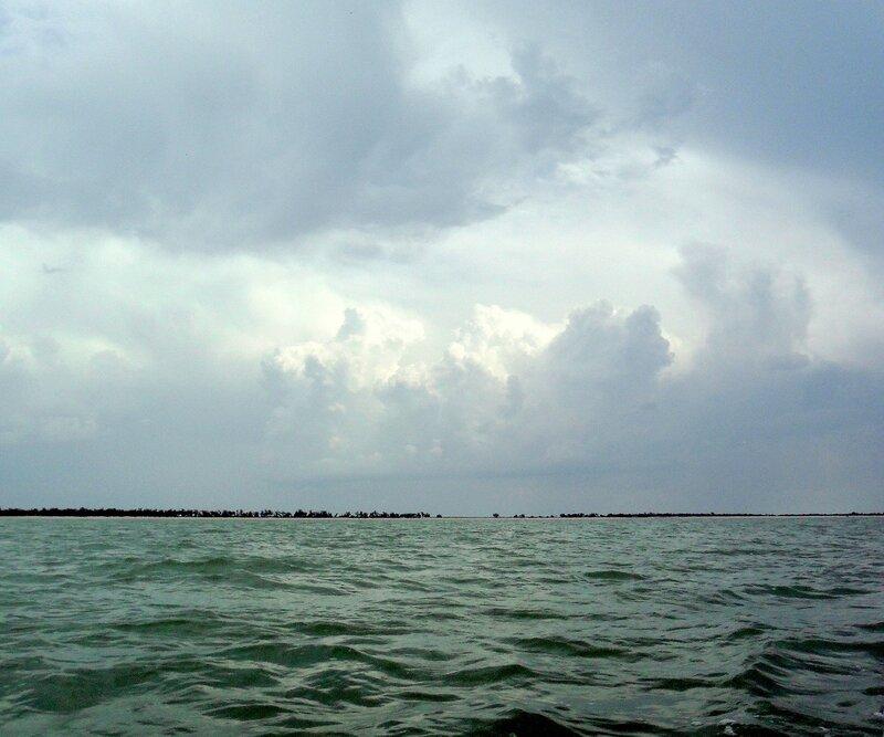 В море, на яхте, июнь