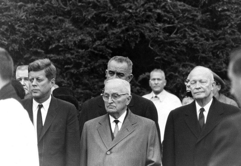 harry trumans and lyndon johnsons successes in handling of us foreign policy Another important aspect of eisenhowers foreign policy plan was to improve us eisenhower relied on covert action by the cia when handling many foreign.