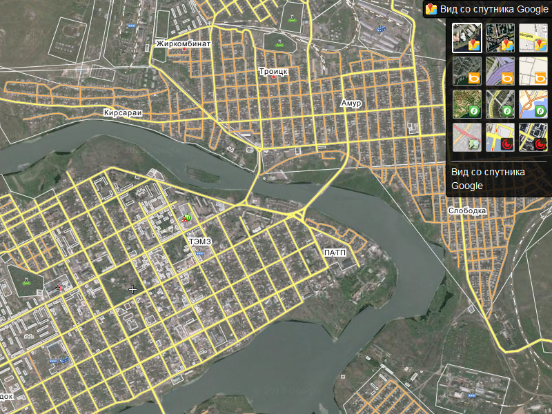 Народная карта Яндекса
