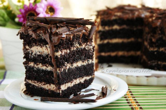 Вкусный крем для шоколадного торта