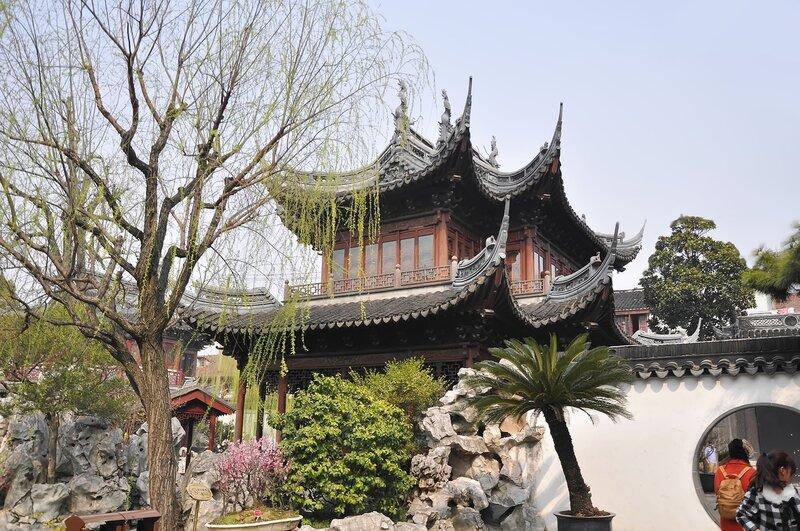 Прогулка по Саду Радости. Китай. Шанхай
