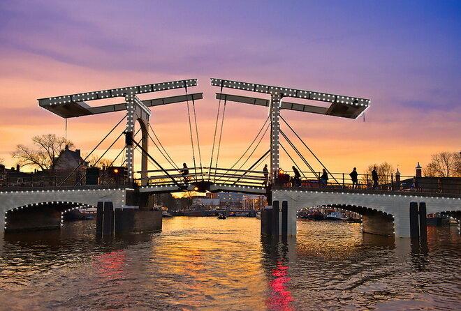Мост Магере-Брюг. Амстердам