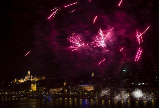 Augusztus 20. - Ünnepi tűzijáték