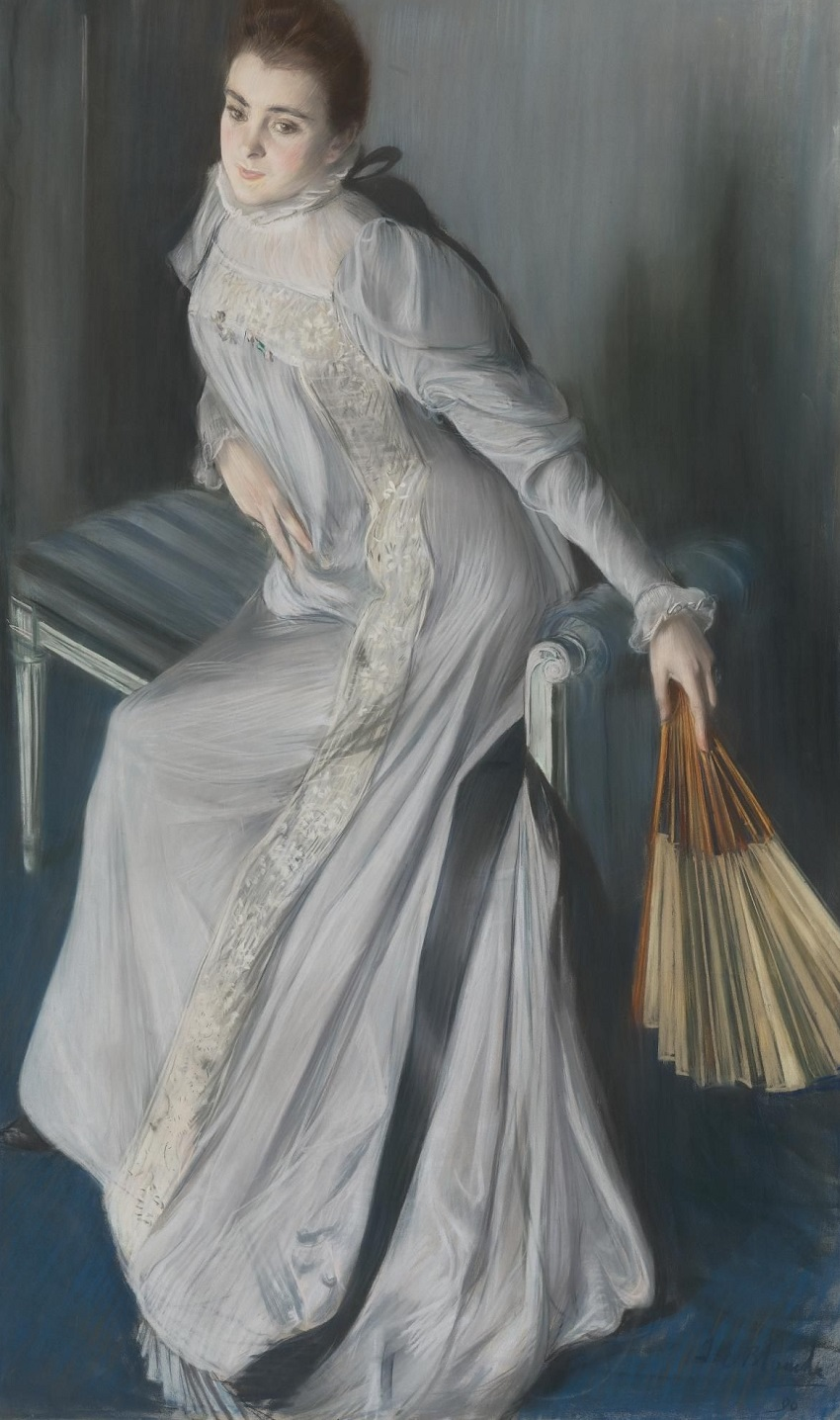 Portrait of Eugenia Huici de Errazuriz.