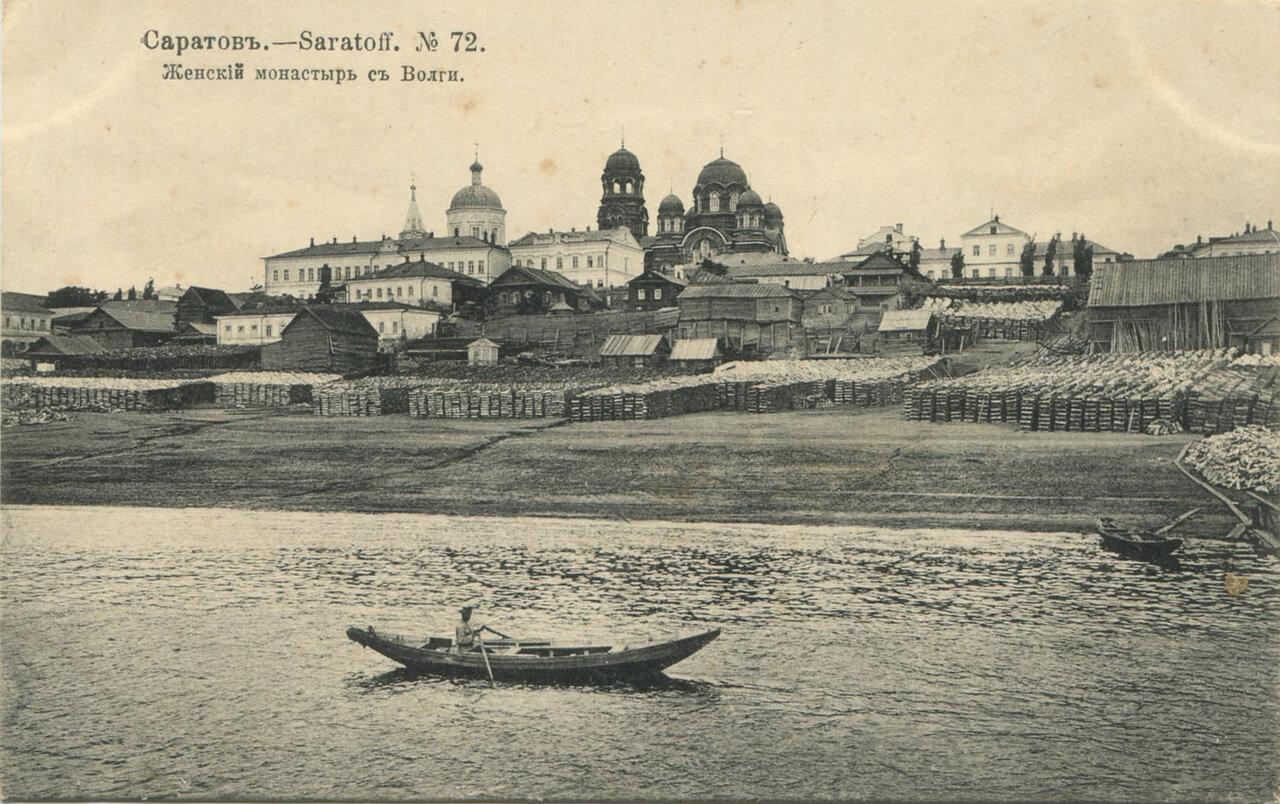 Женский монастырь с Волги