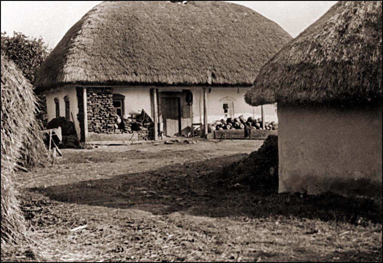 Традиционное украинское село