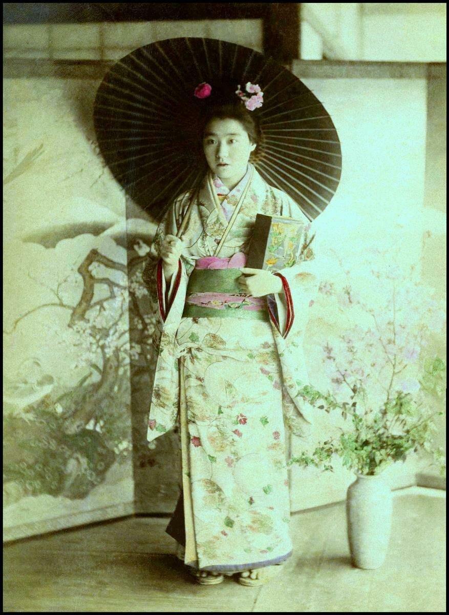 1890. Проститутка борделя № 9, Канагава