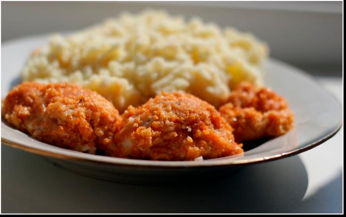 Нежное куриное филе в хрустящей панировке за 15 минут