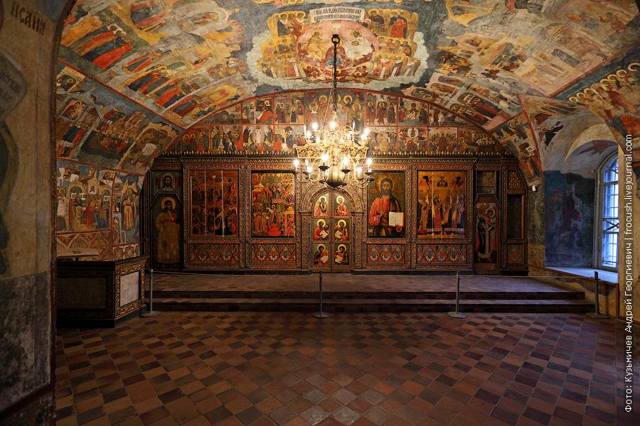 Покровский придел Ильинской церкви в Ярославле