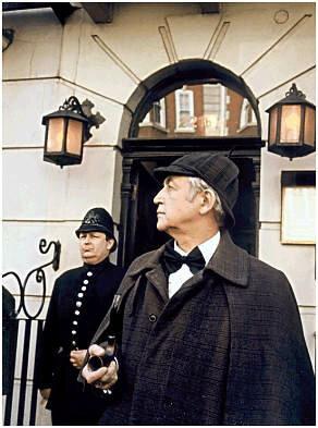 Vasili Livanov as Sherlock Holmes!Это фотография визита Василия Ливанова в музей Шерлок Холмса,в 1990 году.© The Sherlock Holmes Museum221b Baker Street, London, EnglandSherlock Holmes - The Sherlock Holmes Museum of Baker Street.Press Conta