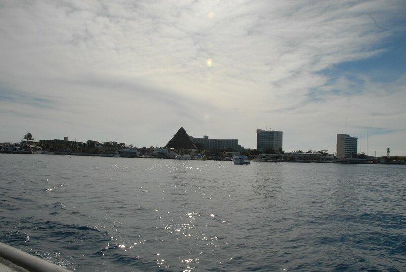 Карибское море. Утро у Мексики.