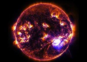 Телескоп NuSTAR сделал уникальный снимок Солнца