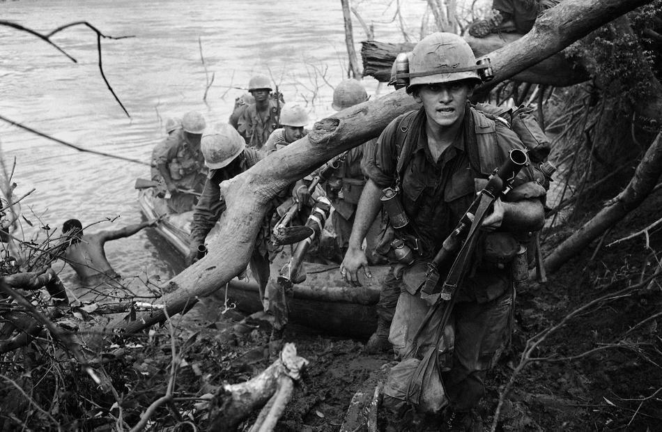 Vietnam U.S. Crossing Water